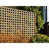 Elegance osłona na betonowe ogrodzenia kratka bez ramy