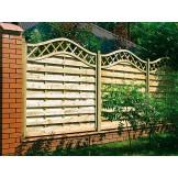 Panel ogrodzeniowy z łukami klejonymi Omega