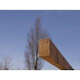 Drewniany legar do tarasów lub krokiew pergoli