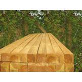 Grube drewniane słupki o przekroju 9x9cm