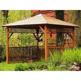 Altana Canopy Spa drewniany daszek nad wannę ogrodową