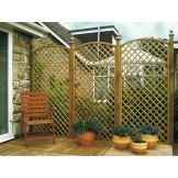 Kratka ogrodowa z łukiem